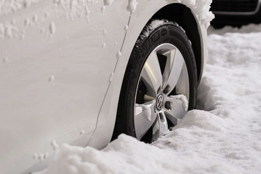 Sulla neve in sicurezza: gli pneumatici invernali